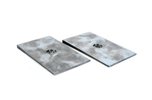 """Jeep Chevy Dodge Ford Toyo Degree Shims for 2.5/"""" Wide Leaf Pack 2.5 Degree STEEL"""