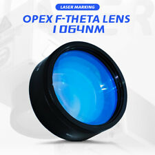 Fiber F Theta Scan Lens Laser Opex 1064nm Yag Laser Marking Optical 70 300mm