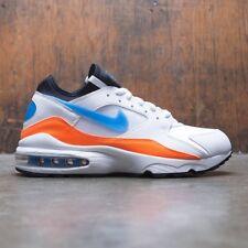 c0db3fbcc7 Nike Air Max 93 Nebula Mens 306551-104 White Blue Orange Running ...