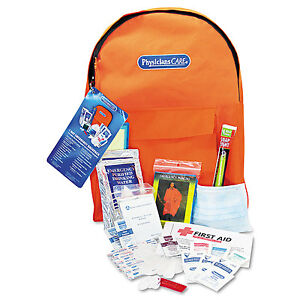 Physicianscare-Emergency-Preparedness-First-Aid-Backpack-43-Pieces-Kit-90123