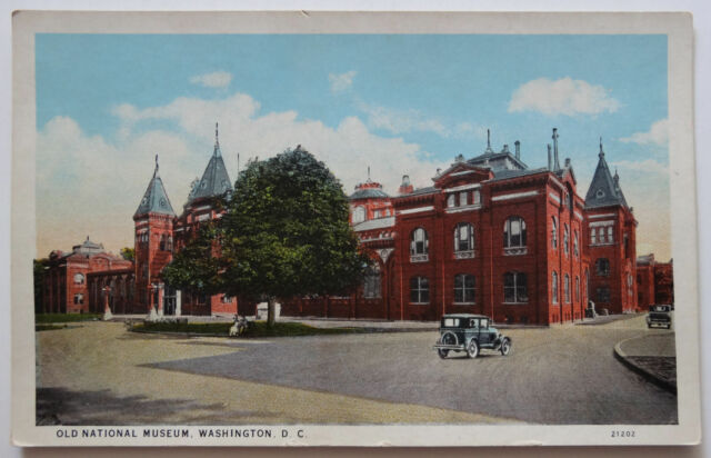 Washington DC Postcard Old Museum c. 1915-1930
