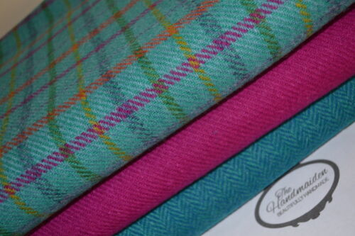Harris tweed tissu Bottes 100/% laine Craft quilting patchwork TARTAN ECOSSE 1