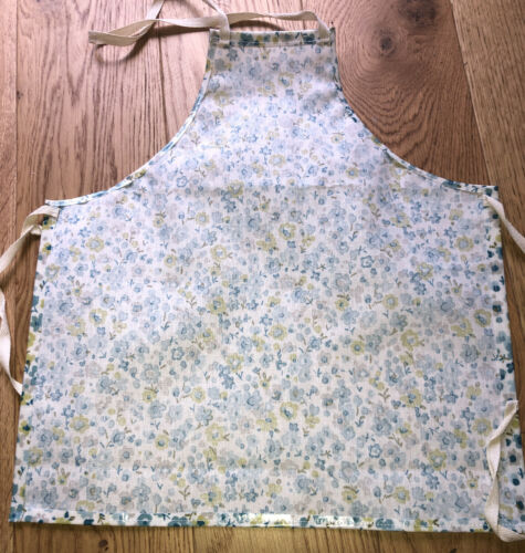 Cooking Eating 3-6yrs Children/'s Floral Oil Cloth Apron Craft