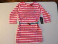U.s. Polo Dress Size 5/6