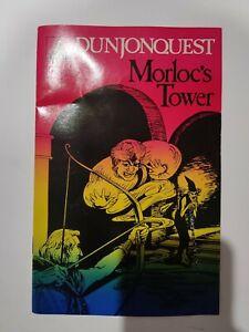 Morloc's Tower Dunjonquest Vintage Apple 2 TRS-80 Epyx software | MANUAL ONLY