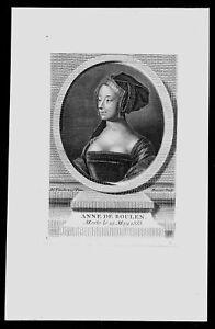 1750-Anne-Boleyn-Marquess-of-Pembroke-Mrs-Henry-VIII-Copperplate-Portrait