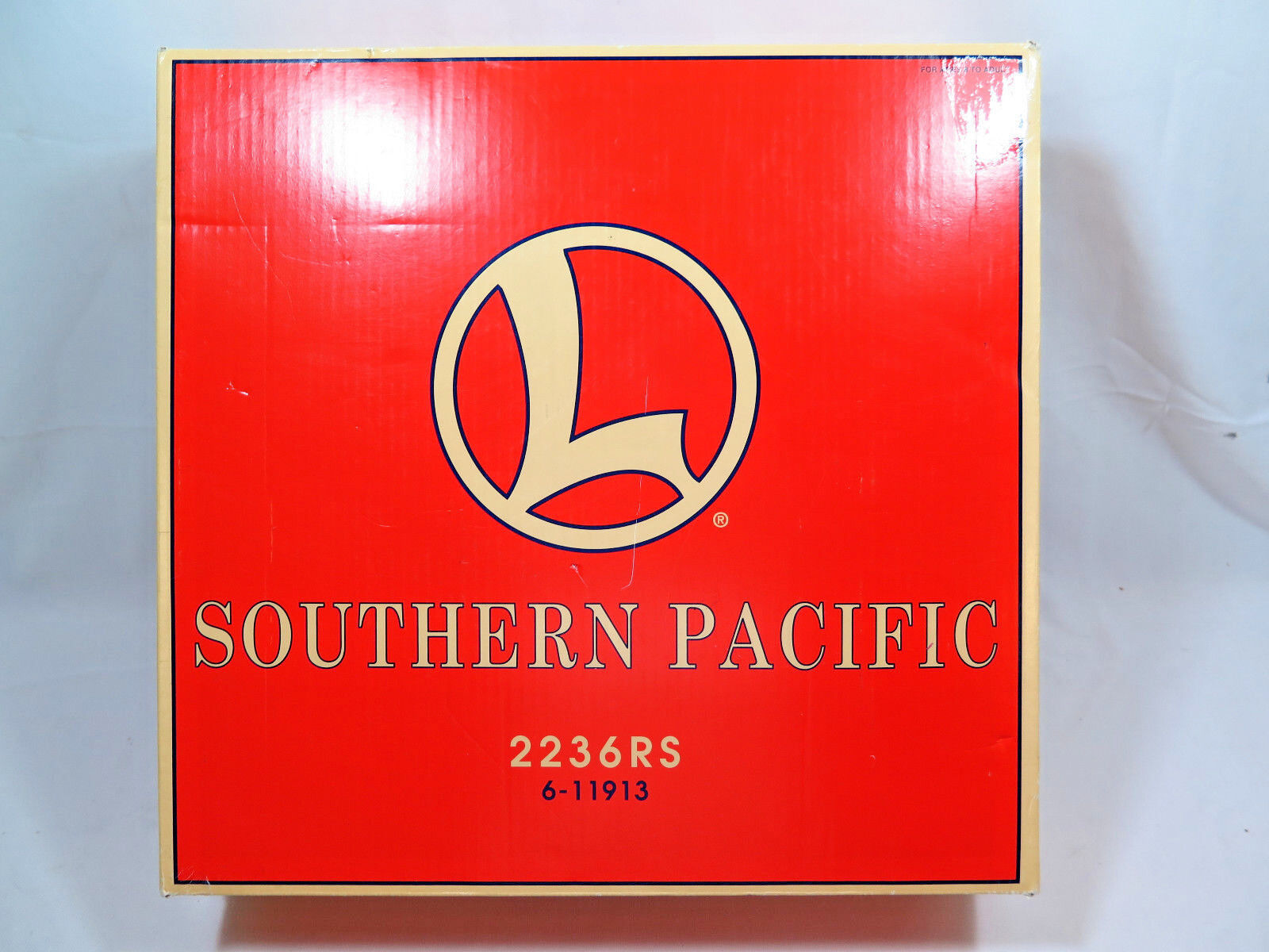 Lionel 6-11913 Southern Pacific Locomotive Freight Set Box
