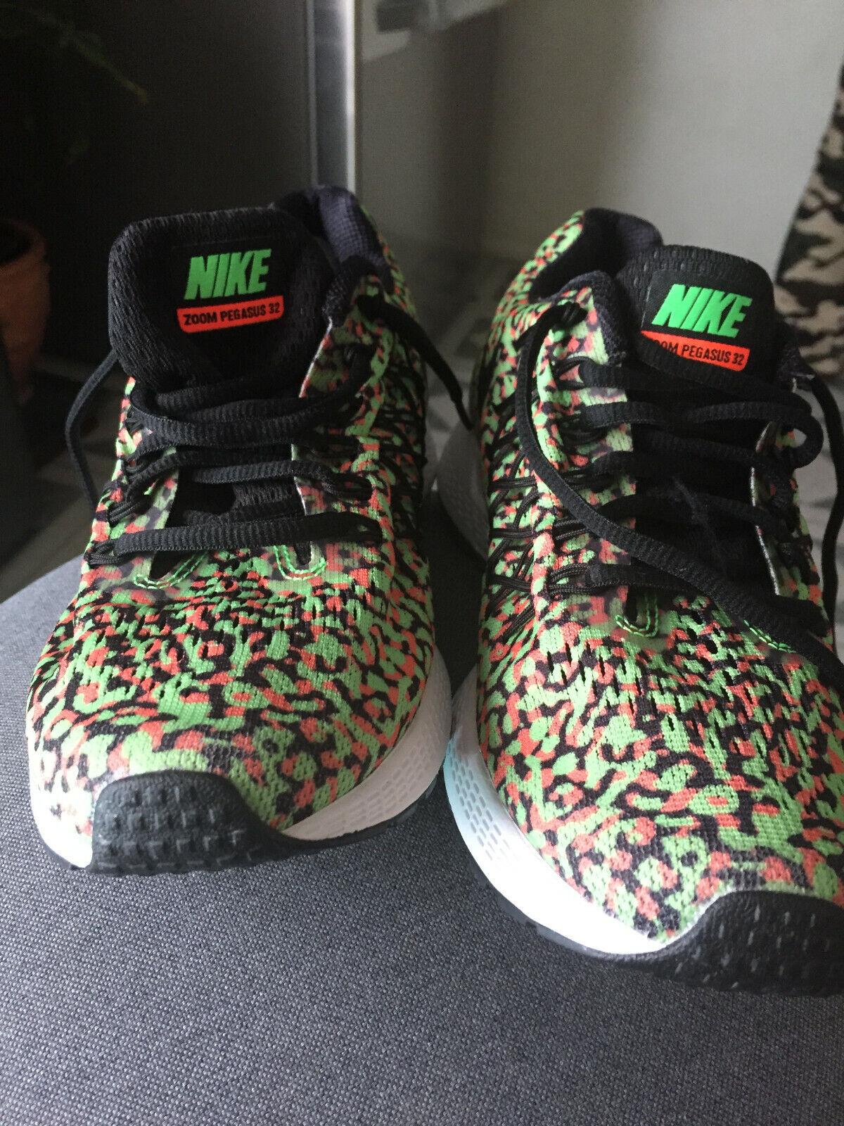 low priced 59ac5 b8d33 Nike Nike Nike Air Zoom Pegasus 32 green with tiger stripes ...