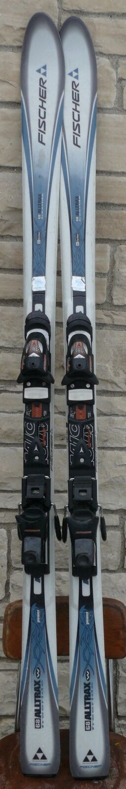 FISCHER ALLTRAX 68 FREERIDE DOWNHILL SKIS 171 LENGTH ATOMIC 3.10 CENTRO 3.10 ATOMIC BINDINGS 9e7f69
