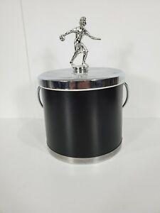 Vintage-Bowling-Ice-Bucket-Female-Bowling-Figure