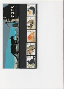 1995-ROYAL-MAIL-PRESENTATION-PACK-CATS-MINT-DECIMAL-STAMPS