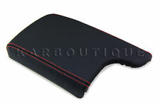 Armrest Center Console Leather Cover for Pontiac Grand Prix 04-08 Red Stitch