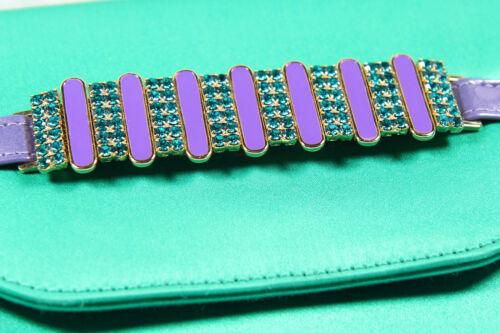 Purple With Bag Mario Green Clutch Bologna Stones sBdxroQCth