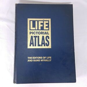 Pictorial-World-Atlas-Life-Rand-McNally-1961-Maps-Geography