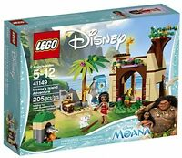 Moana Adventure Building Toy, Lego Disney Cave House Blocks Diy Kids Gifts on sale