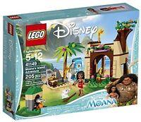 Moana Adventure Building Toy, Lego Disney Cave House Blocks Diy Kids Gifts on sale