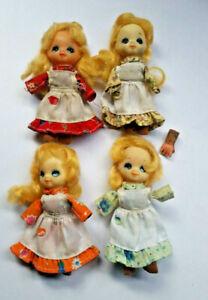 2019 DernièRe Conception Candy Candy Polistil Doll Mignon Mini Bambola Poupee Lotto X Ricambi Achat SpéCial