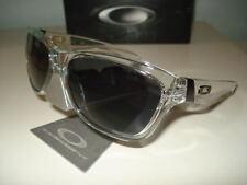 New Oakley Jupiter Sunglasses Clear w/ Grey Men's Dispatch Pictures!! Dispatch