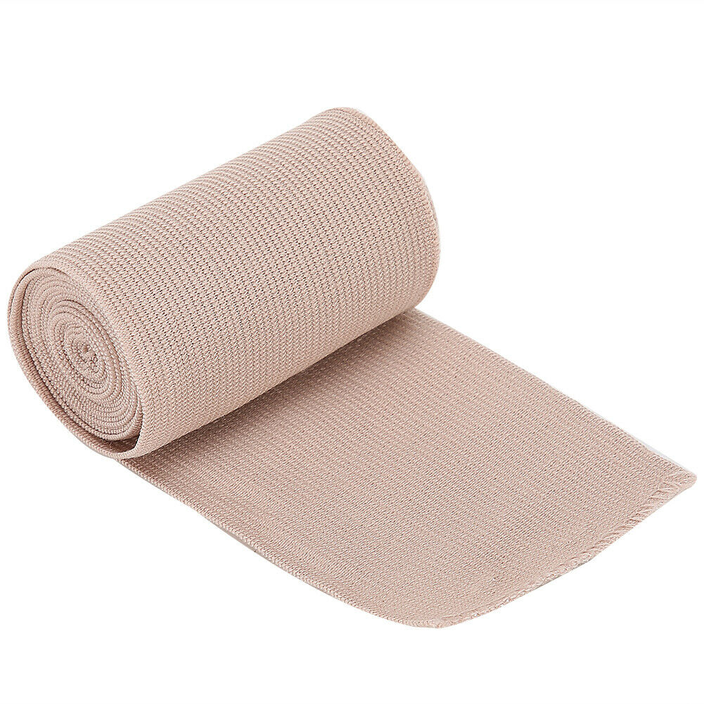 12 Pack Cotton Elastic Bandages 3 Inches Wide (Stretches Up To 14.8 Feet In