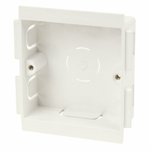 SCHNEIDER ELECTRIC PERIMETER TRUNKING 1G MOUNTING BOX