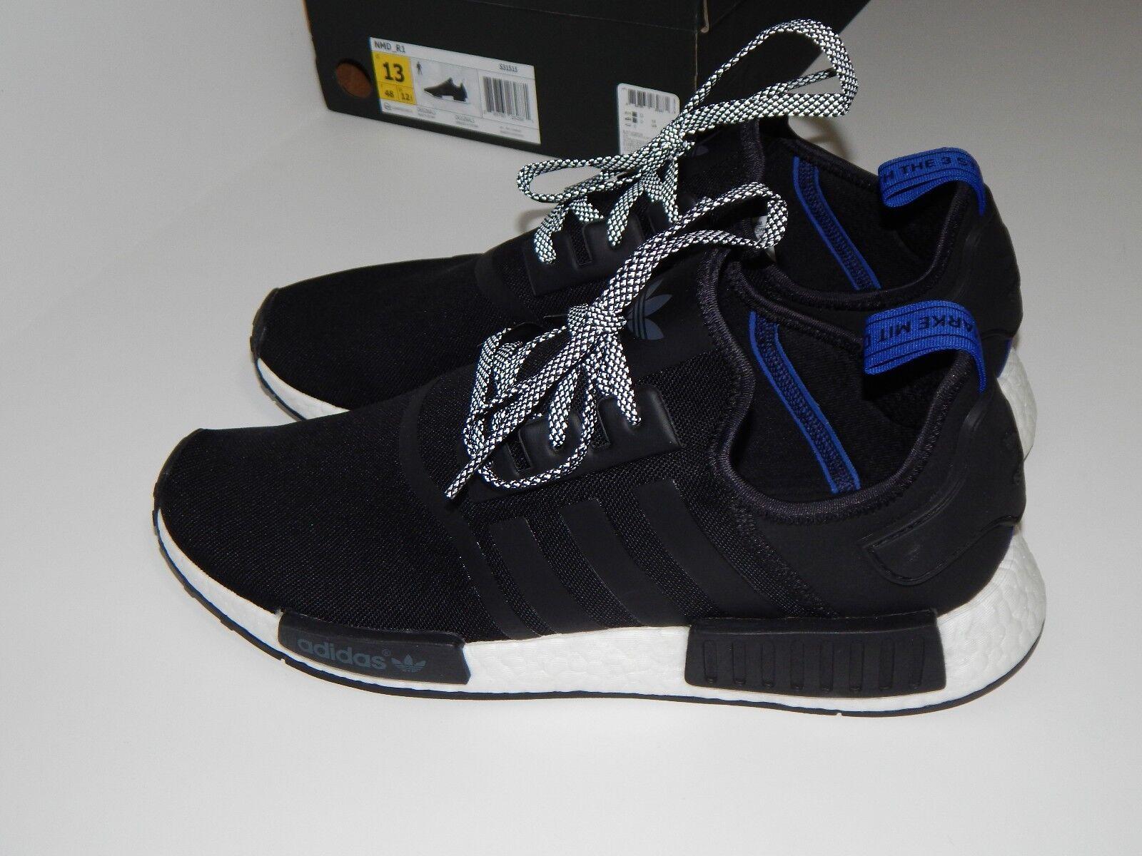 Adidas Men's Casual Shoes 13 GU Blue Tab Black NMD_R1 BOOST VNDS BO MAO w/Box