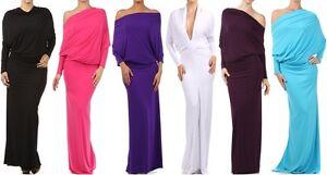Women-039-s-Multi-Way-Reversible-Plunging-Convertible-Long-Maxi-Dress