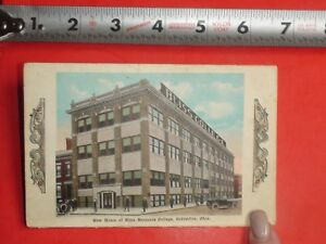Hs393 Rare Vintage Fold Out Multi View Postcard Bliss College