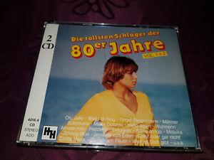 CD-Die-tollsten-Schlager-der-80er-Jahre-Volume-1-Volume-2-Album-2CD-BOX