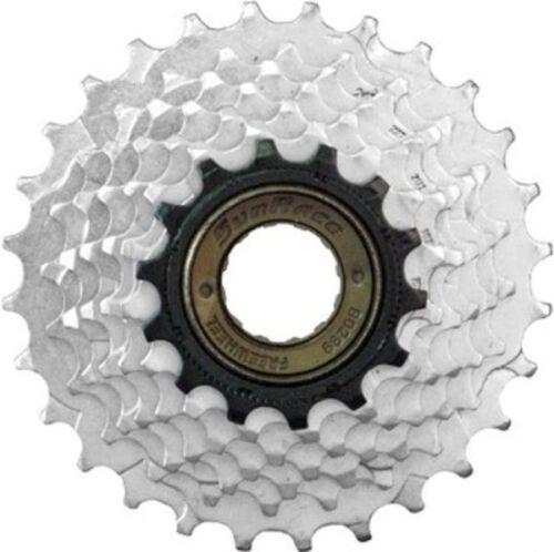 cassette vélo Sunrace Schraubkranz mfm2a7ds 6 positions 14-28z argent