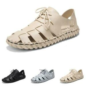 Mens Hollow out Sports Flats Casual Sand Walking Outdoor Sandals Shoes D Summer