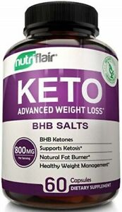 Ultra Fast Keto Boost - Advanced Weight Loss with Metabolic Ketosis Support - -