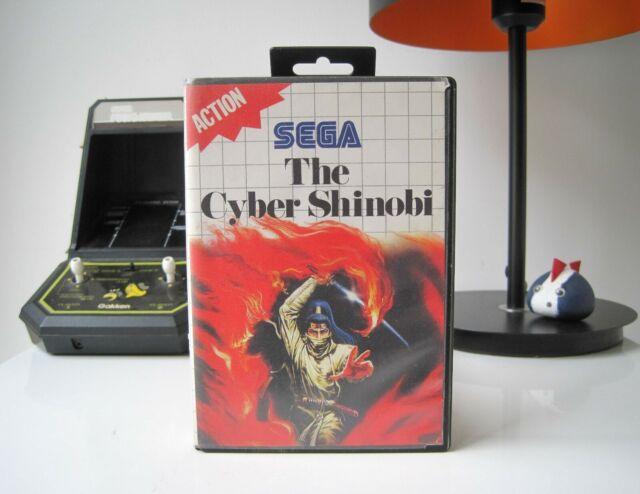 THE CYBER SHINOBI - SEGA MASTER SYSTEM