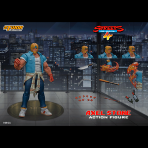 Storm Collectibles Axel Stone Streets of Rage 4 Pre Order Ships in late August
