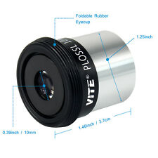 "1.25"" VITE Eyepiece lens Ocular PL 10mm HD Fully Coated For Telescope US ONLINE"