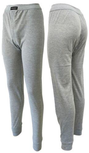 Herren Unterwäsche 95/%Baumwolle 2 lange Unterhosen Nadelstreifen Eingriff Gr 5-7