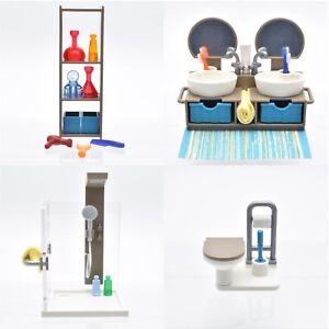 Details zu playmobil® Puppenhaus | Villa | Haus | Badezimmer | Bad |  Einrichtung | Bathroom
