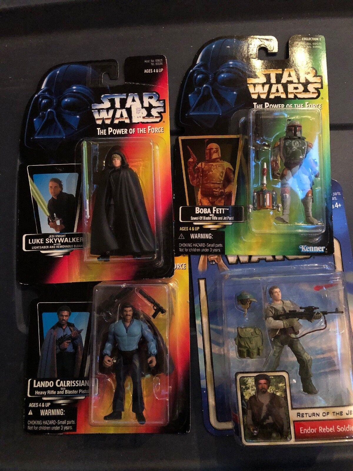 Star - wars - menge  boba fett  lando - rebell soldat