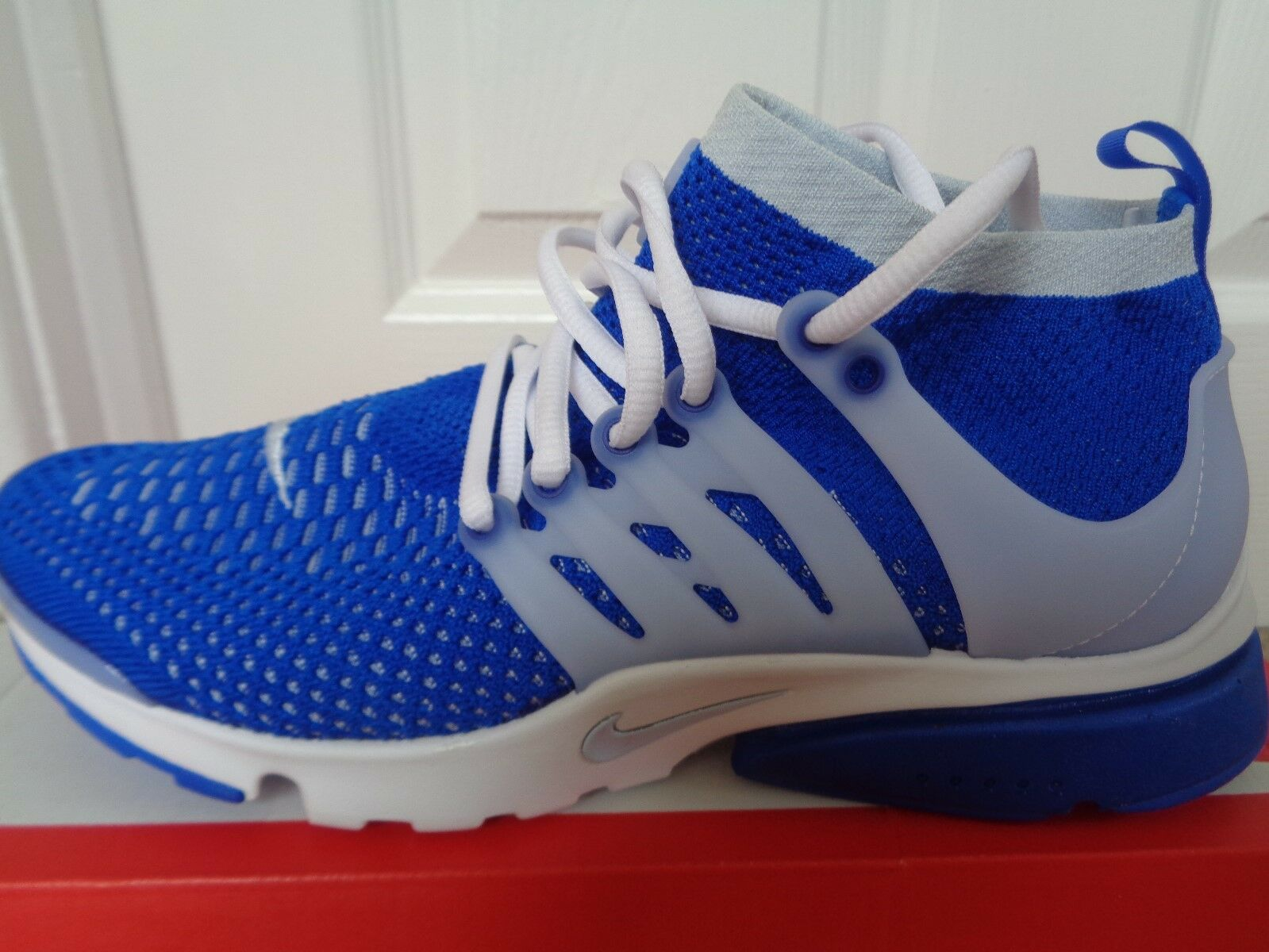 Nike Air Presto flyknit ultra trainers sneakers 835570 403 uk 10 eu 45 us 11 NEW
