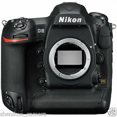 Brand New Unused Nikon D5 Full Frame FX Professional DSLR 4K Digital Camera CF