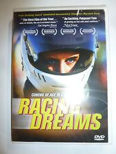 Racing Dreams DVD go kart racers drivers documentary movie Marshall Curry NEW!