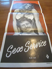 SEX SERVICE - (70s Sexploitation) Australian Daybill Poster