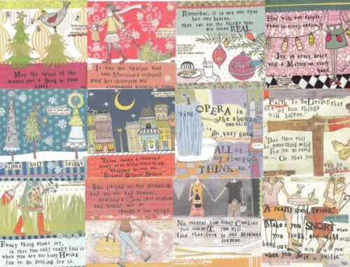 Lot de 12 serviettes papier Scène de vie série 10261 Paper Napkins Curby Girl