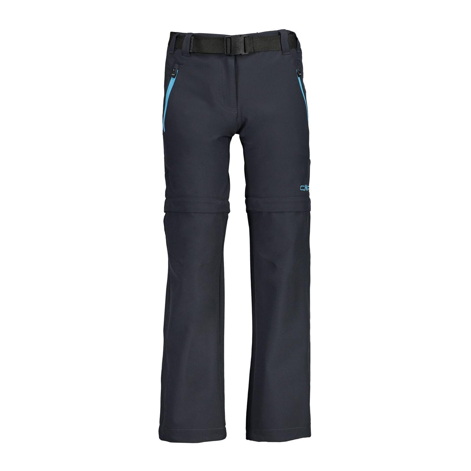 CMP Functional Pants Hiking Pants Girl Pant Zip off Grey