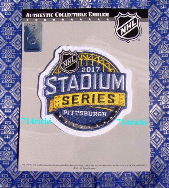Official NHL 2017 Stadium Series Patch Philadelphia Flyers Pittsburgh  Penguins 1433206d9