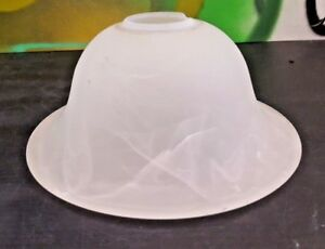 Marble-Glass-Light-Shade-Frosted-White-Swirl-Vanity-Ceiling-Fan-Chandelier-Bell