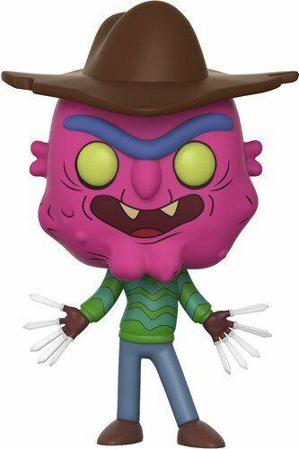 Funko Rick e Morty-Spaventoso Terry Pop Figura in vinile