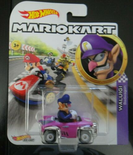 2020 Hotwheels Mario Kart Waluigi