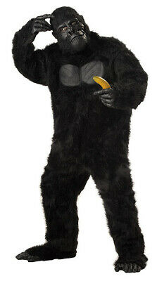Gorilla Goin/' Ape King Kong Jungle Animal Deluxe Mascot Mens Costume One Size