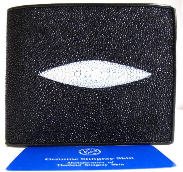 Authentic Stingray Skin Mens 4 Eyes Belt