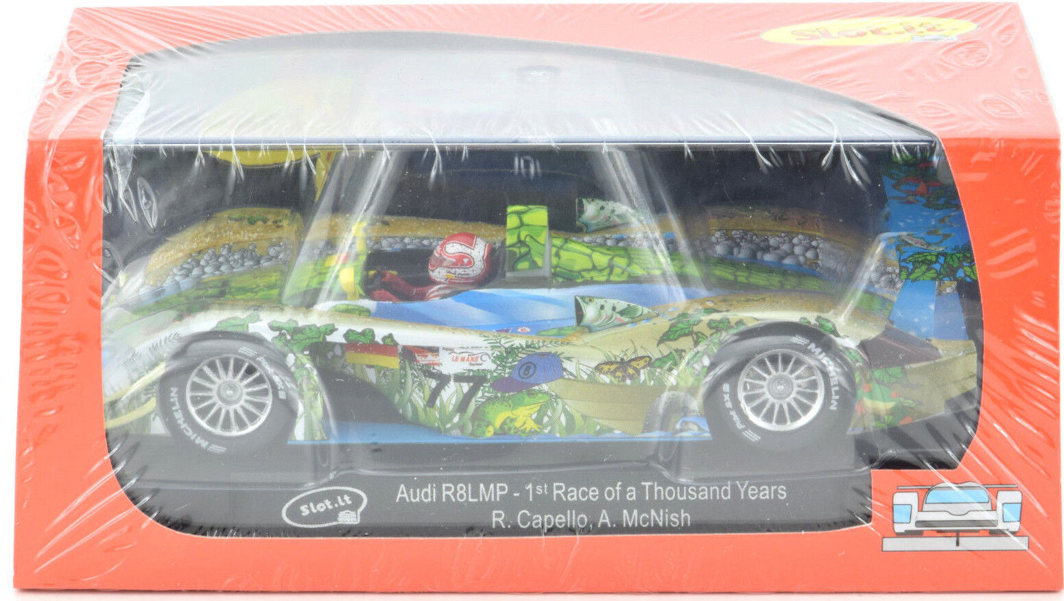 SLOT IT I R8 LMP - 1st Race de mille ans échelle 1 32 Slot Car CA33A